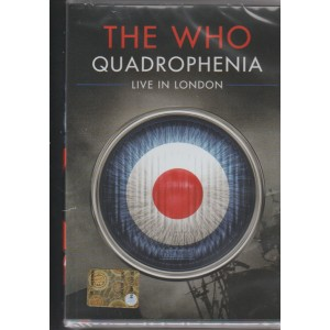 THE WHO. QUADROPHENIA. LIVE IN LONDON