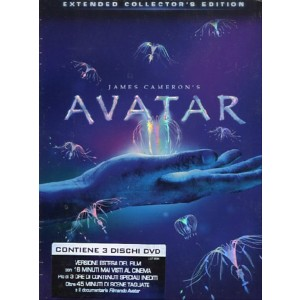 Avatar (Extended Collector's Edition) (3 Dvd)