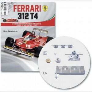 Ferrari 312 T4 in scala 1:8 (Gilles Villeneuve, 1979) Base del motore, base radiatore, motore, copertura motore