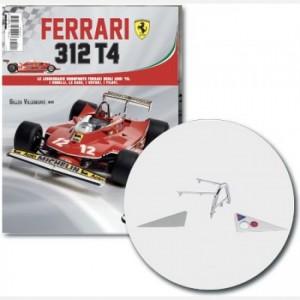 Ferrari 312 T4 in scala 1:8 (Gilles Villeneuve, 1979) Griglia sedile, pannello sinistro e destro griglia sedile