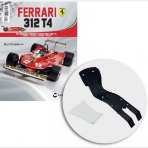 Ferrari 312 T4 in scala 1:8 (Gilles Villeneuve, 1979) Sedile, telaio sedile