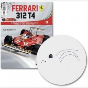 Ferrari 312 T4 in scala 1:8 (Gilles Villeneuve, 1979) Radiatore, connettore e cavi iniezione, tubo e connettore base filtro aria