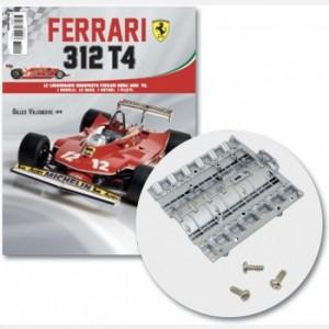 Ferrari 312 T4 in scala 1:8 (Gilles Villeneuve, 1979) Copertura principale motore