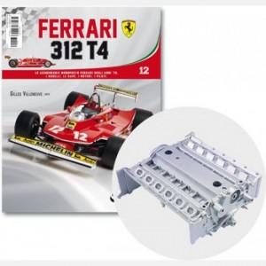 Ferrari 312 T4 in scala 1:8 (Gilles Villeneuve, 1979) Corpo del motore