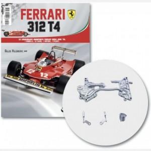 Ferrari 312 T4 in scala 1:8 (Gilles Villeneuve, 1979) Tubo di scarico parte 1,2,3,4