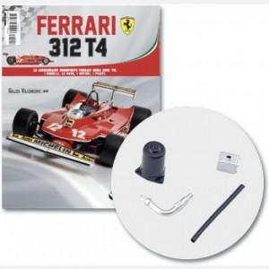 Ferrari 312 T4 in scala 1:8 (Gilles Villeneuve, 1979) Connettore 1,3 Tubo dell'olio 1,2,3