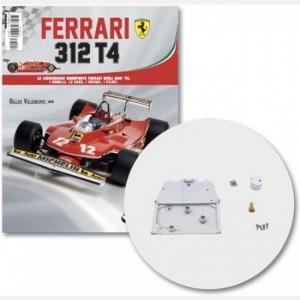 Ferrari 312 T4 in scala 1:8 (Gilles Villeneuve, 1979) Pannello ignifugo, parte 1 pannello, connettore serbatoio e coperchio, screw n