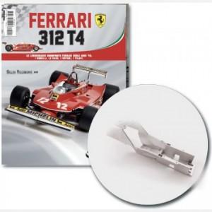 Ferrari 312 T4 in scala 1:8 (Gilles Villeneuve, 1979) Parte interna abitacolo pilota