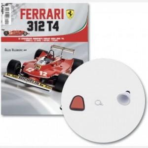 Ferrari 312 T4 in scala 1:8 (Gilles Villeneuve, 1979) Poggiatesta, valvola serbatoio dell'olio, supporto serbatoio dell'olio