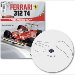 Ferrari 312 T4 in scala 1:8 (Gilles Villeneuve, 1979) Pannello contatori, lente contatore piccolo, lente contatore grande, contatore