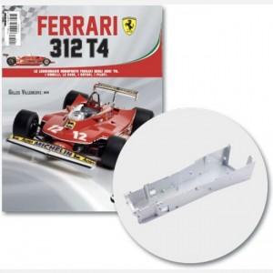 Ferrari 312 T4 in scala 1:8 (Gilles Villeneuve, 1979) Telaio