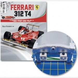 Ferrari 312 T4 in scala 1:8 (Gilles Villeneuve, 1979) Serbatoio acqua 1 e 2, coperchio compartimento freni, pannello ignifugo, tubo olio
