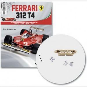 Ferrari 312 T4 in scala 1:8 (Gilles Villeneuve, 1979) Connettore musetto, pompa acqua, giunzione musetto, cavi, screw d