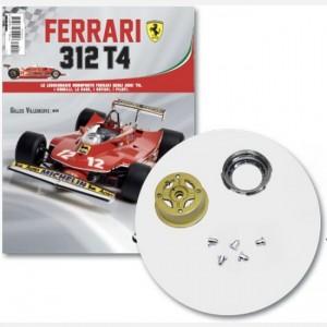 Ferrari 312 T4 in scala 1:8 (Gilles Villeneuve, 1979) Pompa aria anteriore, cerchione esterno e interno anteriore destro e viti, screw A