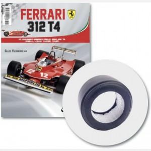 Ferrari 312 T4 in scala 1:8 (Gilles Villeneuve, 1979) Pneumatico anteriore destro