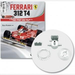 Ferrari 312 T4 in scala 1:8 (Gilles Villeneuve, 1979) Freno a disco destro esterno e interno, pinza freno anteriore destra, parte pinza
