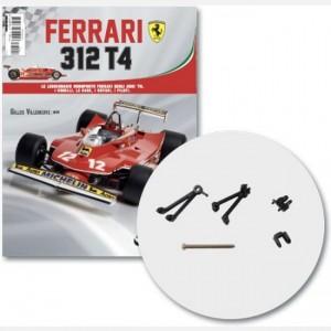 Ferrari 312 T4 in scala 1:8 (Gilles Villeneuve, 1979) Albero anteriore sospensione dx e parte mediana, supporto albero ant, braccetto