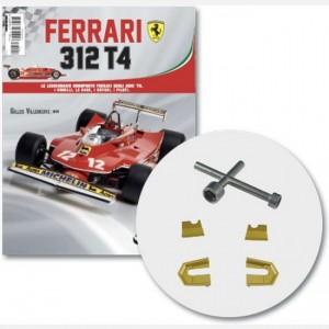 Ferrari 312 T4 in scala 1:8 (Gilles Villeneuve, 1979) Base rotazione, base rotazione 1, chiave a croce