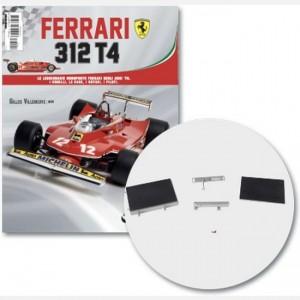Ferrari 312 T4 in scala 1:8 (Gilles Villeneuve, 1979) Parte superiore 1 serbatoio dell'acqua, parte inferiore serbatoio acqua, parte superiore serbatoio acqua, parte inferiore serbatoio acqua, connettore serbatoio dell'acqua