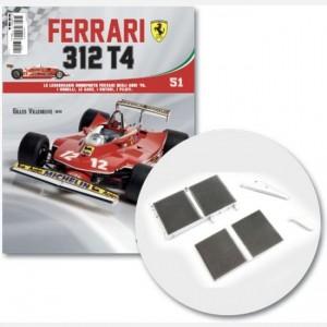 Ferrari 312 T4 in scala 1:8 (Gilles Villeneuve, 1979) Serbatoio raffreddamento e copertura, serbatoio acqua piccolo parte 2 e connettore