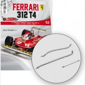 Ferrari 312 T4 in scala 1:8 (Gilles Villeneuve, 1979) Asta serbatoio di raffreddamento, tubo 1- 2 serbatoio acqua