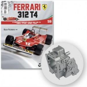 Ferrari 312 T4 in scala 1:8 (Gilles Villeneuve, 1979) Scomparto box trasmissione, viti N