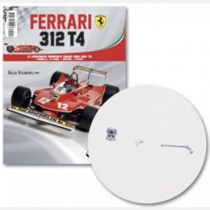 Ferrari 312 T4 in scala 1:8 (Gilles Villeneuve, 1979) Coperchio pompa dell'olio, pedale, giunzione pedale