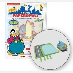 I Love Paperopoli 1 Parte casa di Bum Bum Ghigno + 1 pezzo base