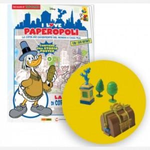 I Love Paperopoli Uscita N°3 (4 parti borsa valori + statua + base statua + 2 alberi)