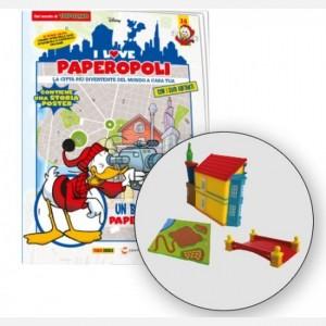 I Love Paperopoli 1 parte casa di paperoga + ponte rosso + 1 pezzo base