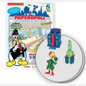 I Love Paperopoli Uscita n° 12 (1 parte grattacielo di Rockerduck + 1 parte biblioteca + 1 pezzo base + Gastone)