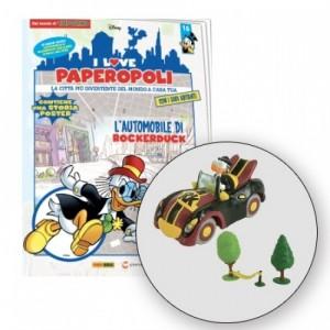 I Love Paperopoli Car rockerduck + 2 alberi + 1 amaca + 1 pezzo base