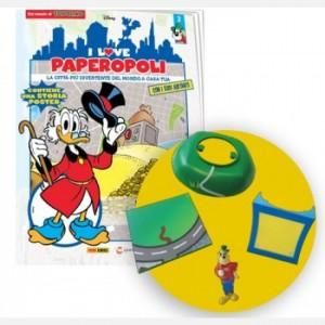 I Love Paperopoli Uscita N°2 (1 parte di Deposito + Nonno Bassotto + 1 tassello base)