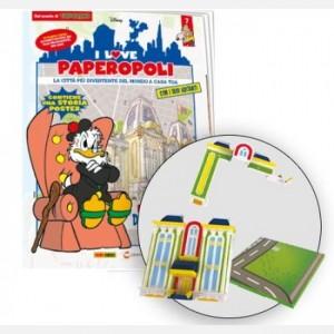 I Love Paperopoli Uscita N° 7 (2 parti club dei miliardari + 1 pezzo base)