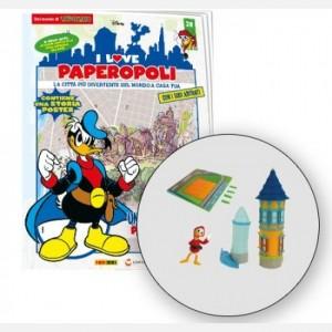 I Love Paperopoli 2 parti Villa Rosa + paperoga + 1 pezzo base