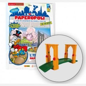 I Love Paperopoli 5 parti ponte strallato + ponte giallo