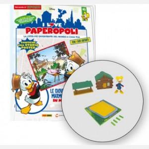 I Love Paperopoli 2 Parti quartier generale Gm + Brigitta + 1 pezzo base