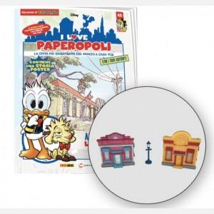 I Love Paperopoli 1 Parti Quack Town + 1 Lampione + 1 Pezzo base