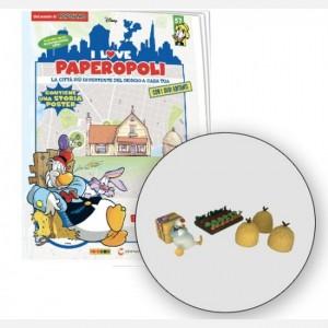 I Love Paperopoli Ciccio + 3 covoni + orto