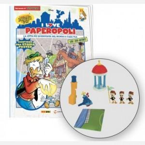 I Love Paperopoli 2 parti casa di Archimede + Qui Quo e Qua + Tempietto + 1 pezzo base