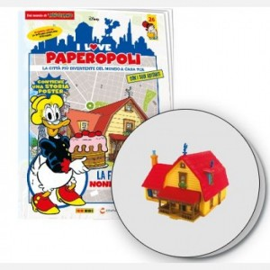 I Love Paperopoli 2 parti fattoria di nonna Papera + 2 alberi