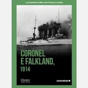 La grande Biblioteca Militare della Prima guerra mondiale Coronel e Falklands 1914