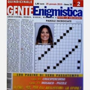 GENTE Enigmistica Uscita N° 2 del 2019 (Anno XX)