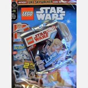 LEGO Star Wars - Magazine Numero 26 +  Luke Skywalker