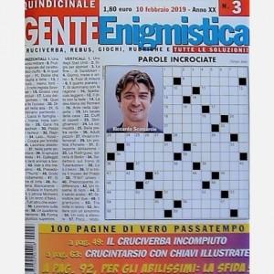 GENTE Enigmistica Uscita N° 3 del 2019 (Anno XX)