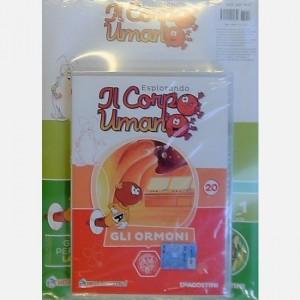 """Esplorando il Corpo Umano - 27esima edizione Fascicolo """"Gli ormoni"""" + DVD in HD"""
