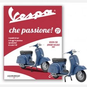 Vespa che passione! Vespa 150 Sprint veloce - 1969