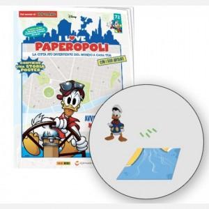 I Love Paperopoli 1 parte catamarano + Paperino marinaio + 1 pezzo base + cofanetto fascicoli
