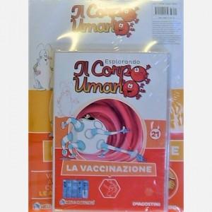 """Esplorando il Corpo Umano - 27esima edizione Fascicolo """"La vaccinazione"""" + DVD in HD"""