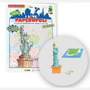 I Love Paperopoli Statua della Libertà + basetta appoggio + 1 pezzo base